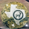 texas water jet - stone cut inlay with granite